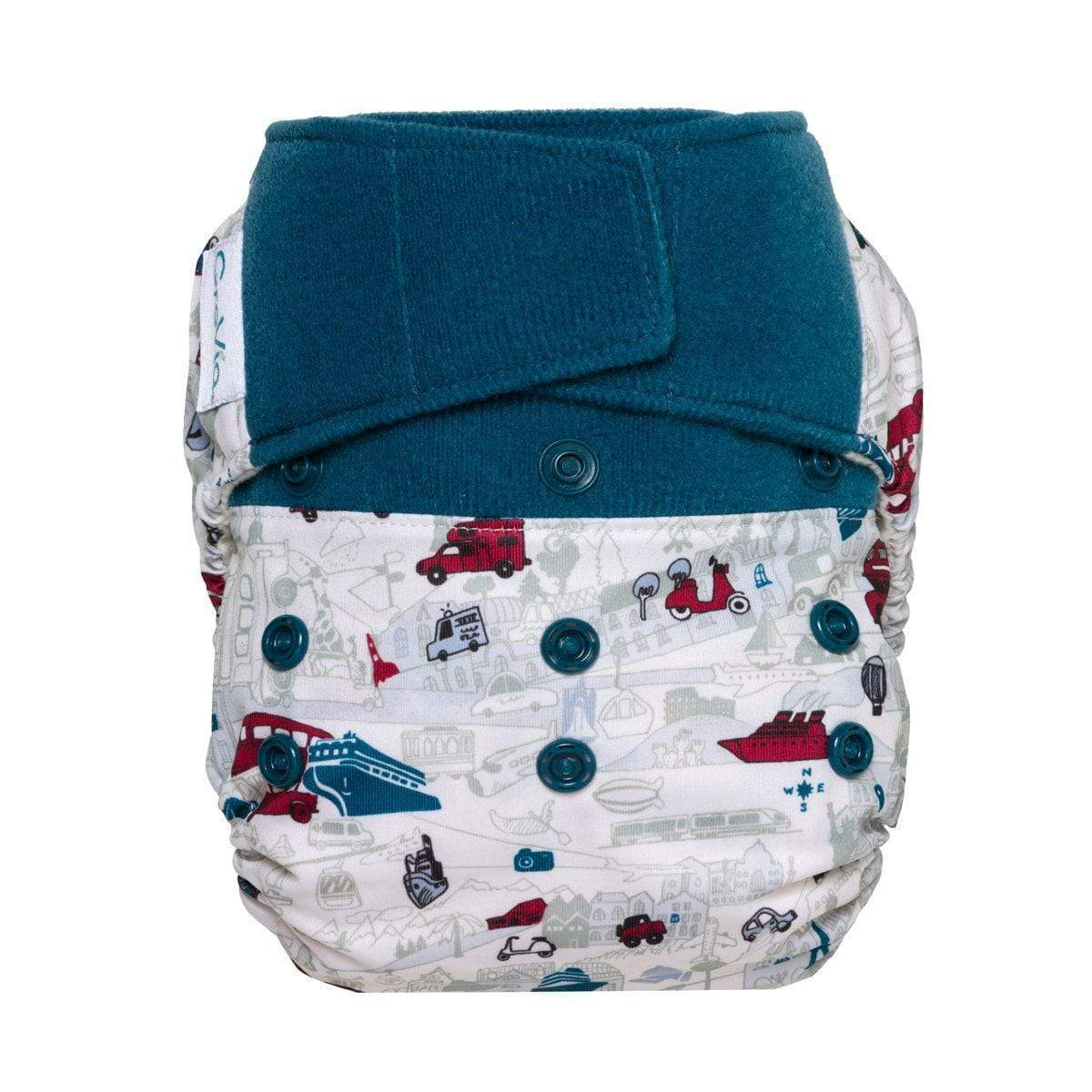 Hybrid Hook & Loop Hybrid Diaper Shell - Have Baby Will Travel