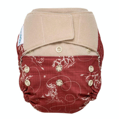 Hybrid Hook & Loop Hybrid Diaper Shell - Tex