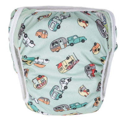 Swim 1 (10 - 19 lbs) Swim Diaper - Adventure
