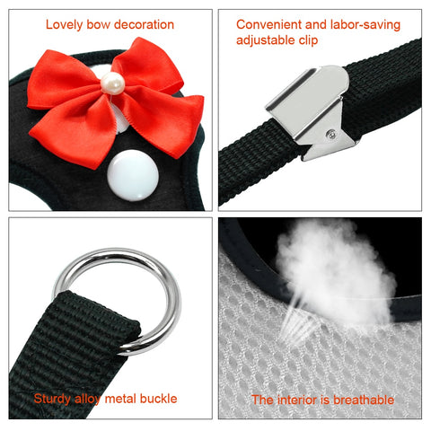Nylon Breathable Party Harness For Pet