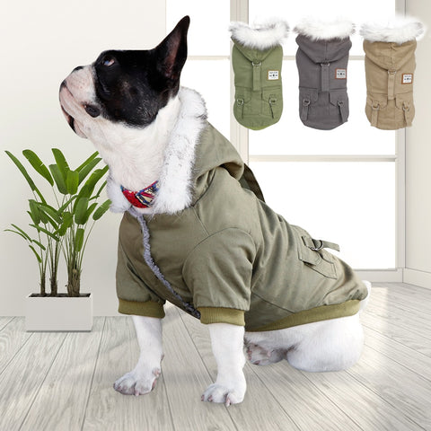 Winter Warm Fashion Dog Jacket
