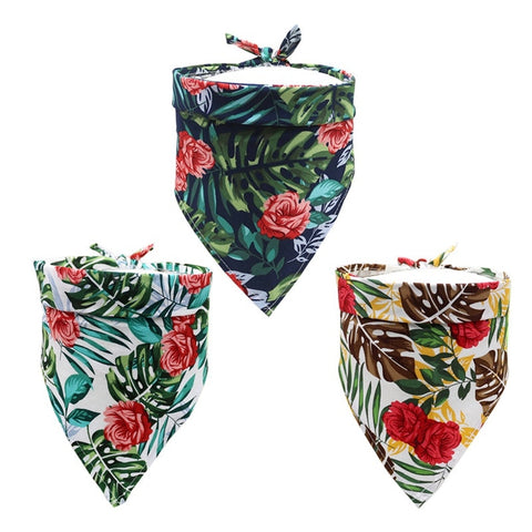 Romantic Rose Printed Bandana