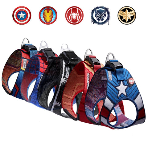 Hot Sale Marvel Avengers Special Edition Harness Vest for Pet