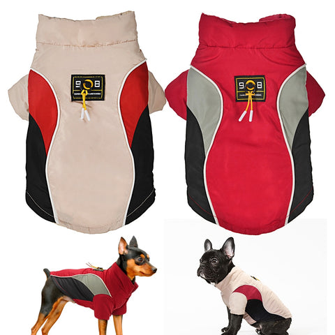 Dog Solid Winter Jacket