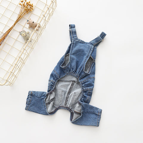Winter Denim Jumpsuit