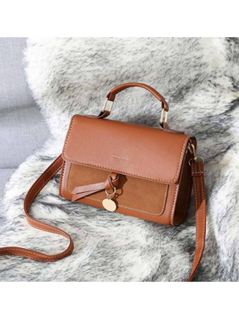 Women Handbag Fashion Leather Postman Bag