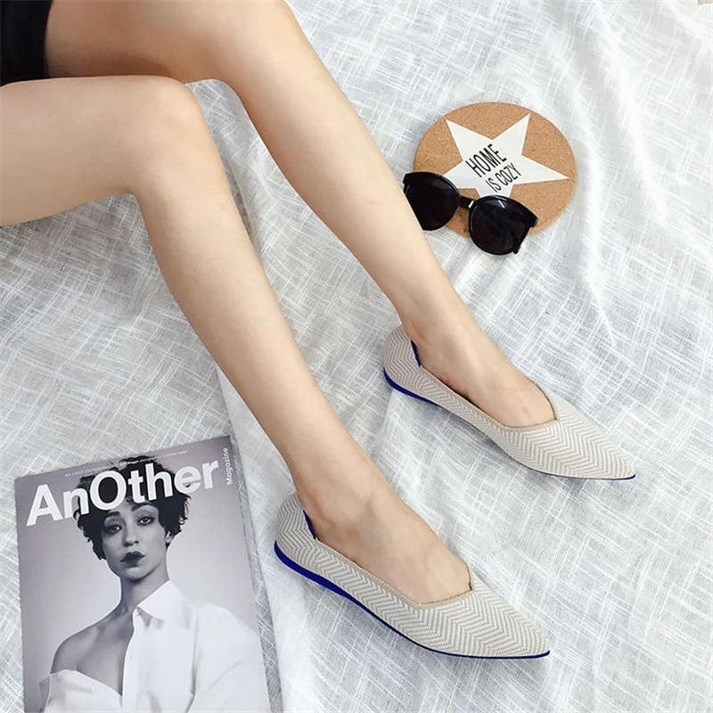Pointed Toe flats Ballet Loafers