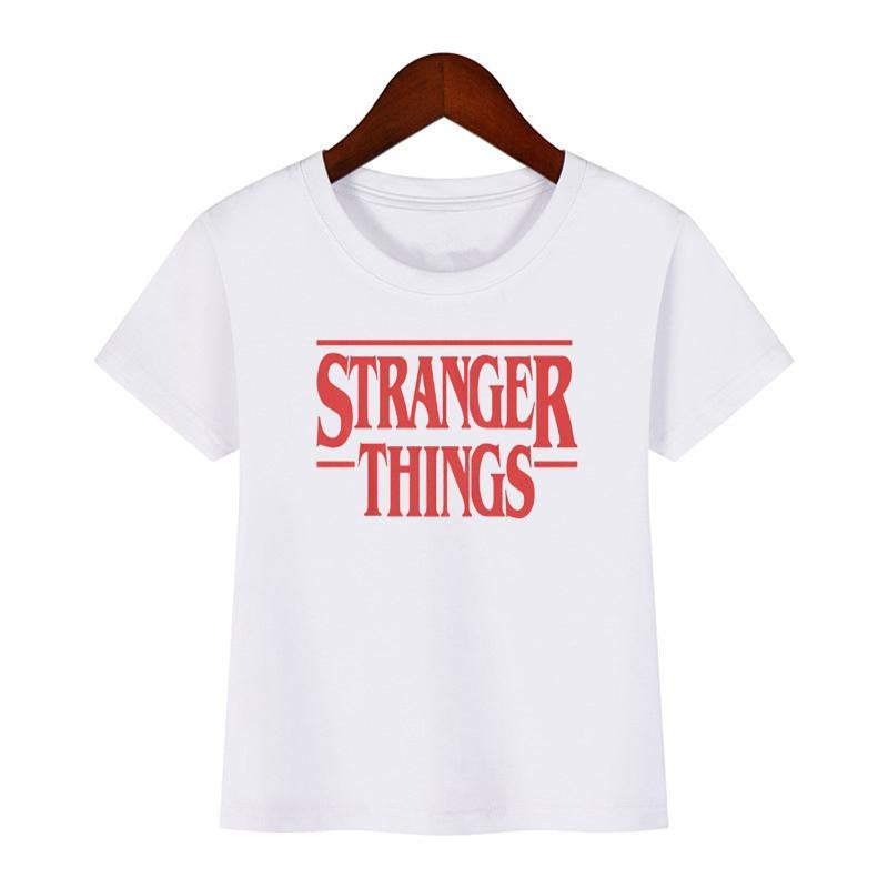 Kids Stranger Things T-shirt Fashion Cartoon Short Sleeve Funny T-shirt