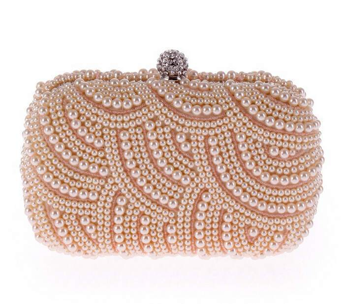 Pearl Clutch Bag For Party