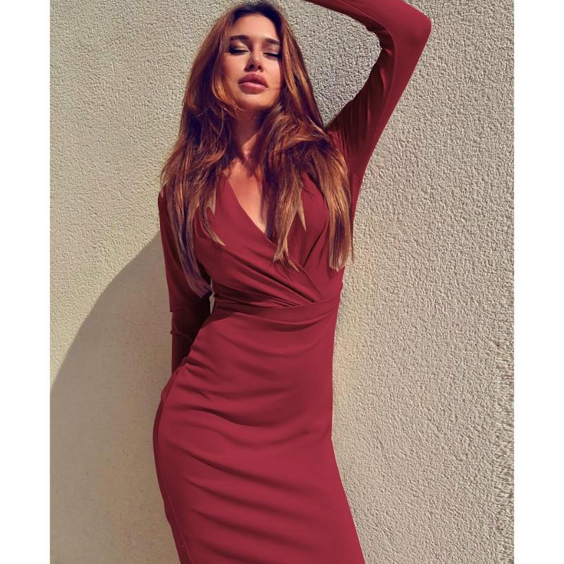 Women Bandage Bodycon Dress