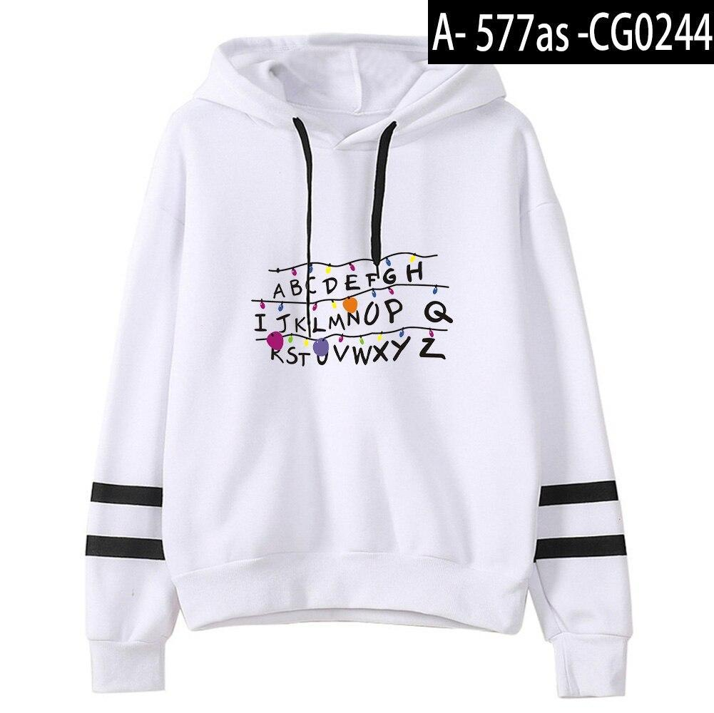 Hoodie Stranger Things TV Series Fashion Printed All Matched Long Sleeve Hoody
