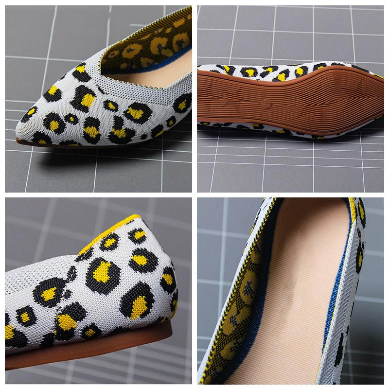 Pointed Toe flats Ballet Breathable Loafer Shoes