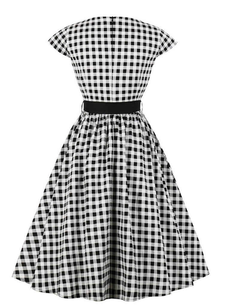 Aline Dress Polka Dot Vintage Style Dress for Women