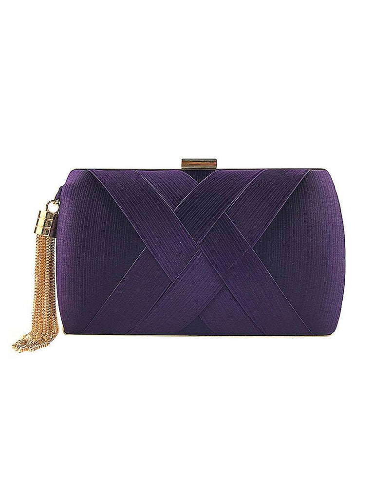 Fashion Handbag Women Tassel Evening Bag