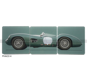 Aston Martin DBR1 rep Art Coasters