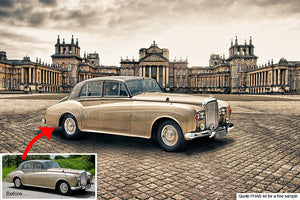 Blenheim Palace Classic Background For Your Car