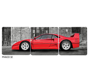 Ferrari F40 Art Coasters 2