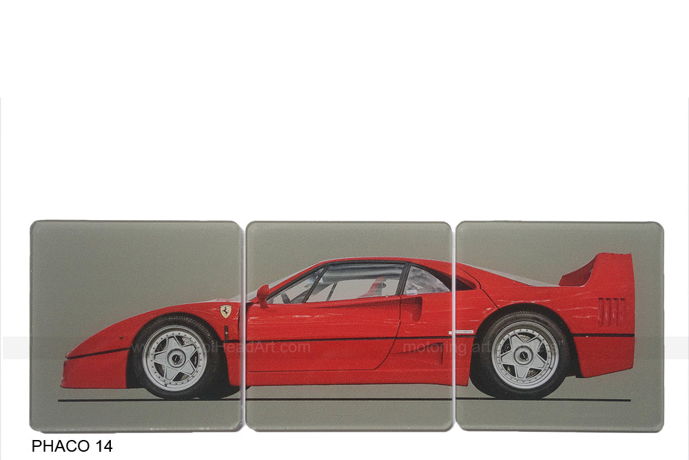 Ferrari F40 Art Coasters
