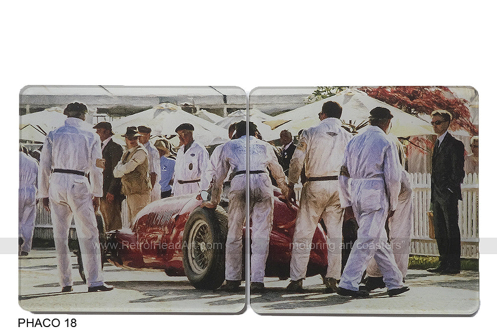Goodwood Revival 2 Art Coasters