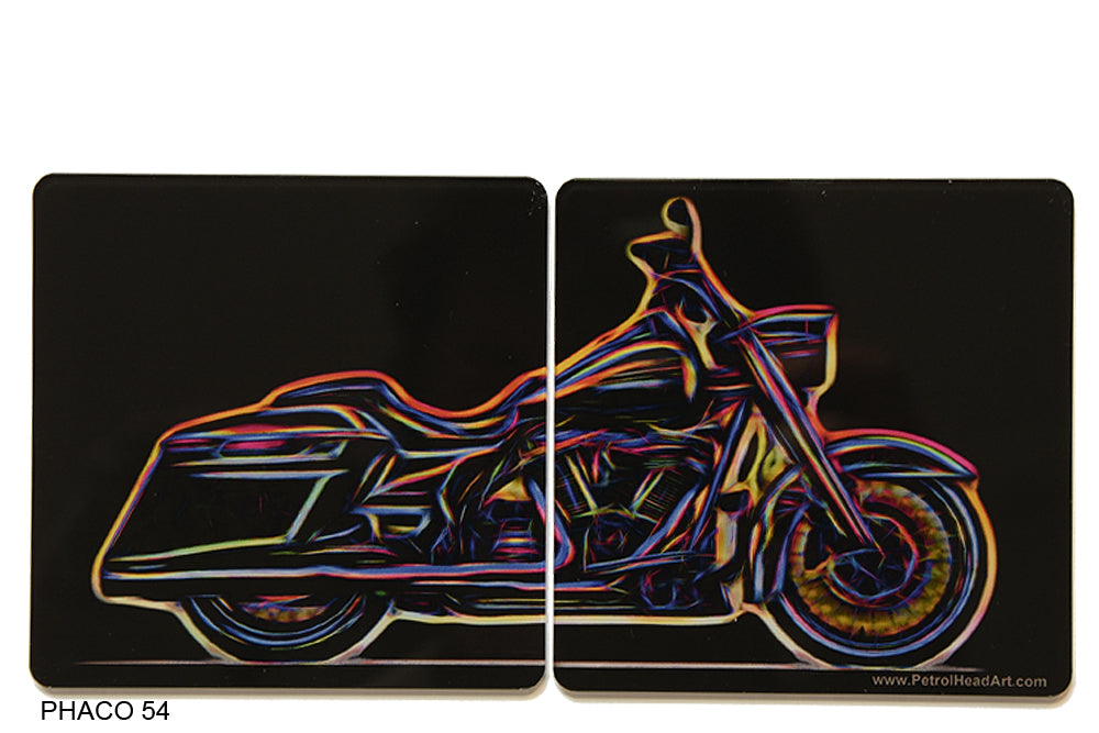 Harley Roadking Coasters