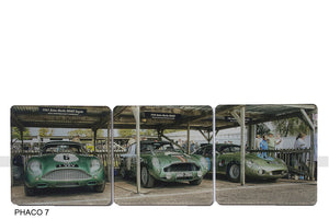 Aston Martin Coasters Goodwood