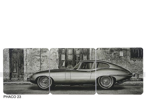 Jaguar E-Type 1 Art Coasters