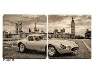 Jaguar E Type Coasters Big Ben