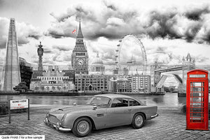 London Backgrounds For Your Bike Car Background