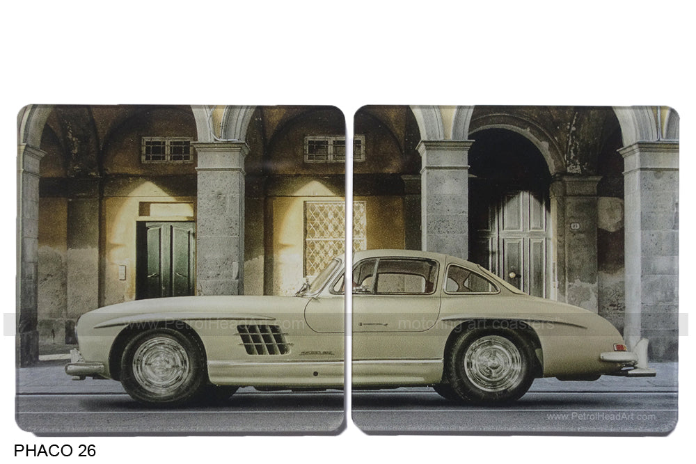 Mercedes Gullwing Art Coasters