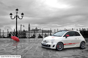 Abarth Art Greetings Card