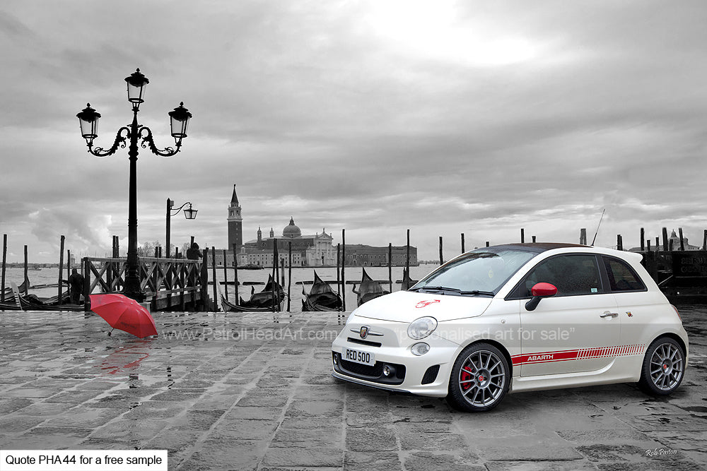 Abarth Art For Sale