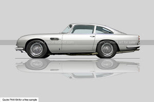Aston Martin DB5 Art For Sale