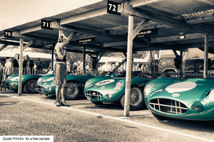 DBR1 Aston Art Greetings Card