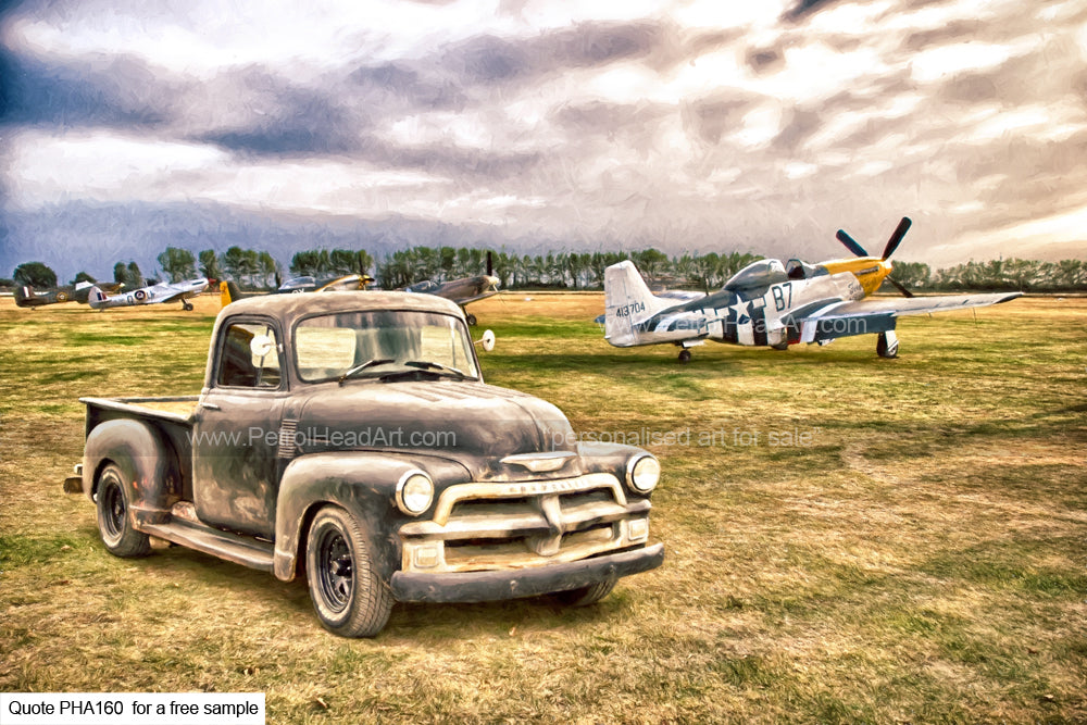 Chevy Pick Up Art For Sale