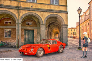 Ferrari 250 Art For Sale