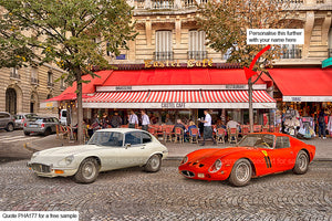Ferrari E Type Art For Sale