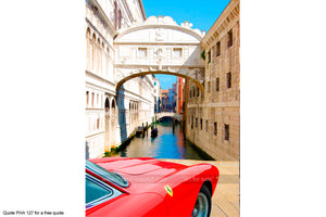 Ferrari Art 3 Greetings Card