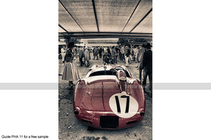 Ferrari Goodwood Revival Art 2 Art For Sale