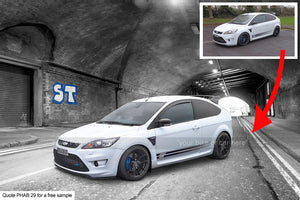 Ford Focus Art Background
