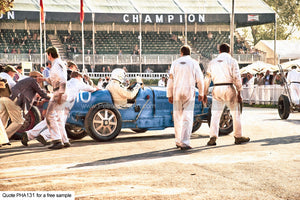 Goodwood Revival Art 3 Greetings Card