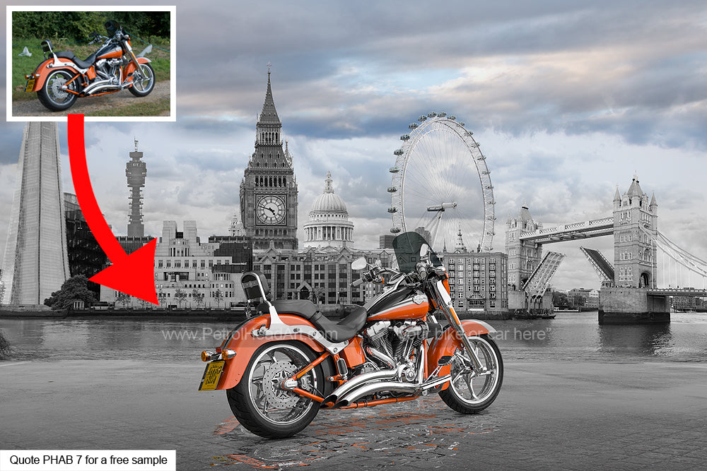 Harley Art London Background