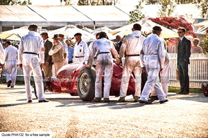 Historic Motor Racing Art For Sale