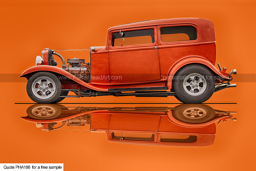 Hot Rod Art For Sale