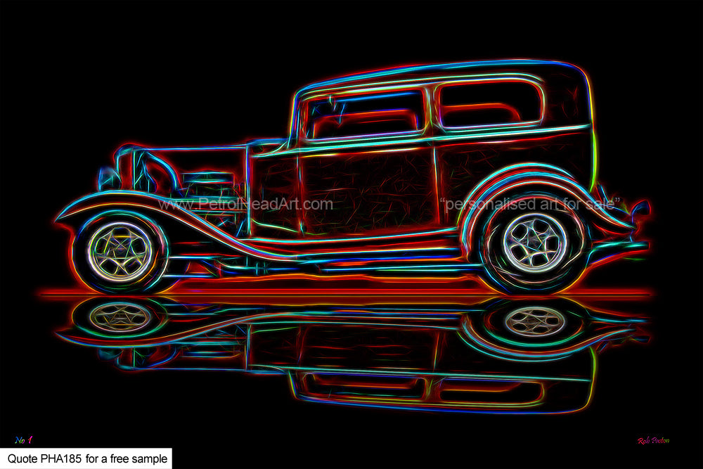 Hotrod Art For Sale