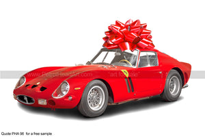 Motoring Gifts Ferrari 250 GTO Greetings Card