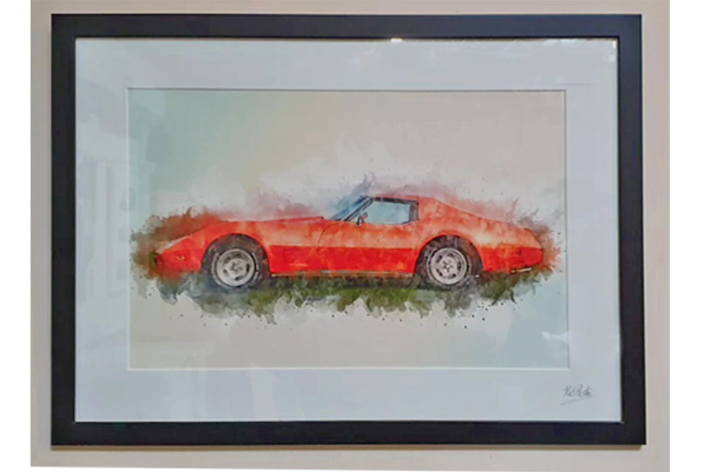 Personalised car art ideas for under £100 Arty Splash Car Art