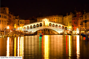 Rialto Bridge Art Greetings Card