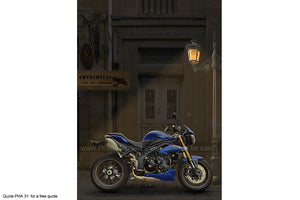 Triumph Speed Triple Art Greetings Card
