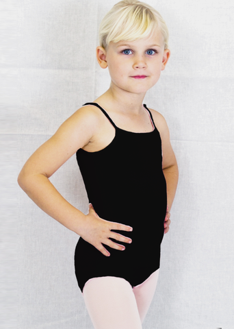 Basic Moves Adjustable Camisole Leotard Girls 5421GL