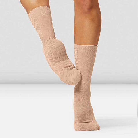 Blochsox Dance Socks - Sand Knit